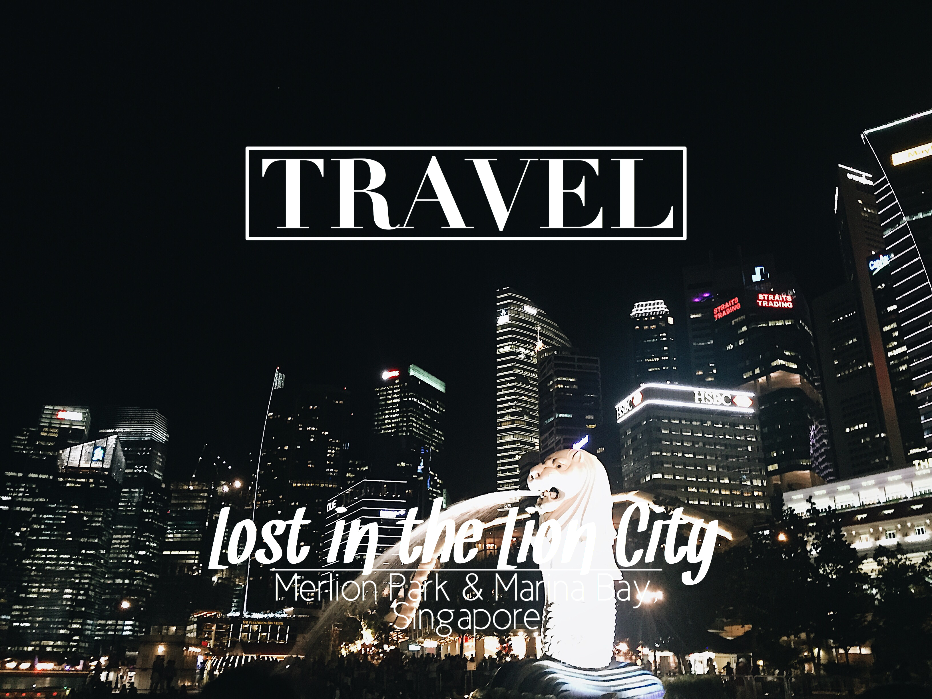 Lost in the Lion City